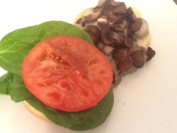Provolone & Portobello mushroom meal